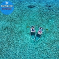 Full Transparent SUP Clear Stand Up Board Polycarbonate Plastic SUP Paddle Board