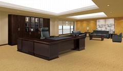 美時辦公傢具CEO主管桌