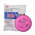 3M 2091CN 2097CN P100過濾棉防顆粒物有機氣體蒸氣異味油漆苯 2