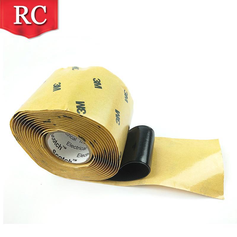 3M2228高压防水绝缘胶带 密封自粘带 电气防水胶泥电工橡胶布 2