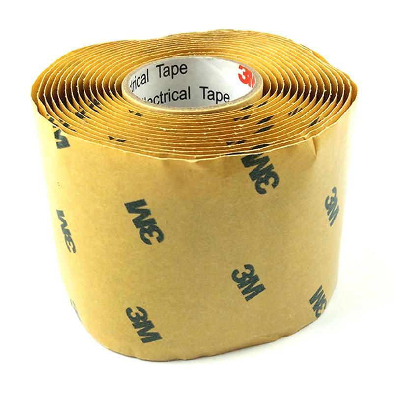 3M2228高压防水绝缘胶带 密封自粘带 电气防水胶泥电工橡胶布 3