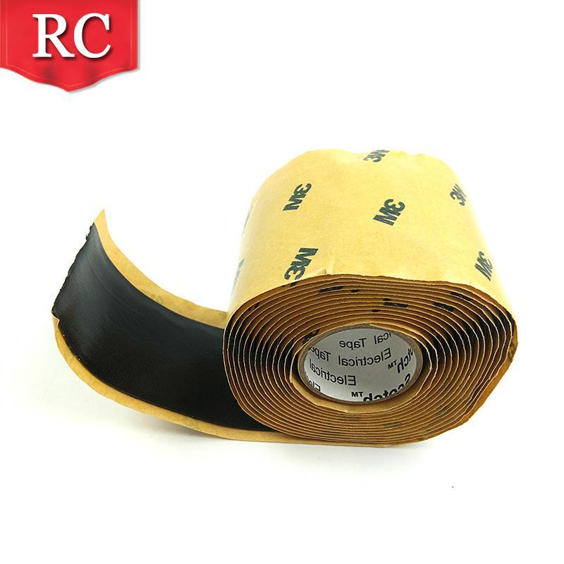 3M2228高压防水绝缘胶带 密封自粘带 电气防水胶泥电工橡胶布 5