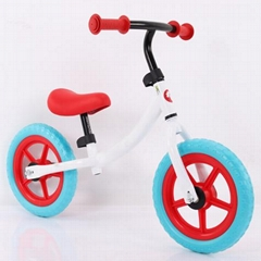 Civa steel kids balance bike H02B-1201 EVA wheels ride on toys