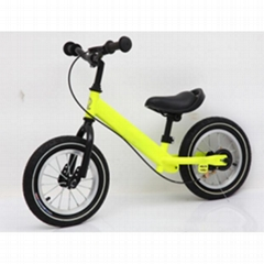 Civa steel kids balance bike H02B-1203S air wheel with hand brake ride on toys