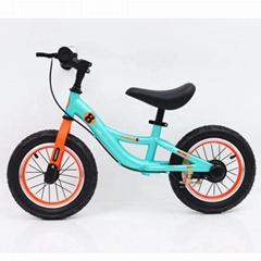 Civa steel kids balance bike H02B-1212 air wheels ride on toys