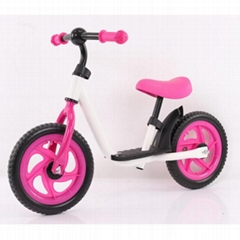 Civa steel kids balance bike H02B-1214 EVA wheels ride on toys