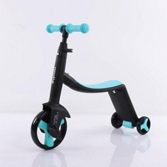 Civa 3-in-1 kids scooter H02B-3-1 PU wheels ride on toys
