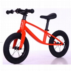 Civa integrated carbon fiber kids balance bike H02B-1209X air wheels ride on toy