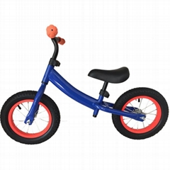 Civa steel kids balance bike H02B-1207B air wheels ride on toys
