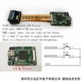 720P微型顯示器模組 頭盔顯示單目模組單目彩色取景器 HDMI輸入 1