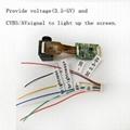 夜視儀取景器微型顯示屏FPV顯示器 2