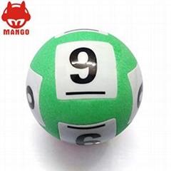 可控摇奖机专用RFID数字抽奖球 加工定制宾果球 摇号机泡沫号码球