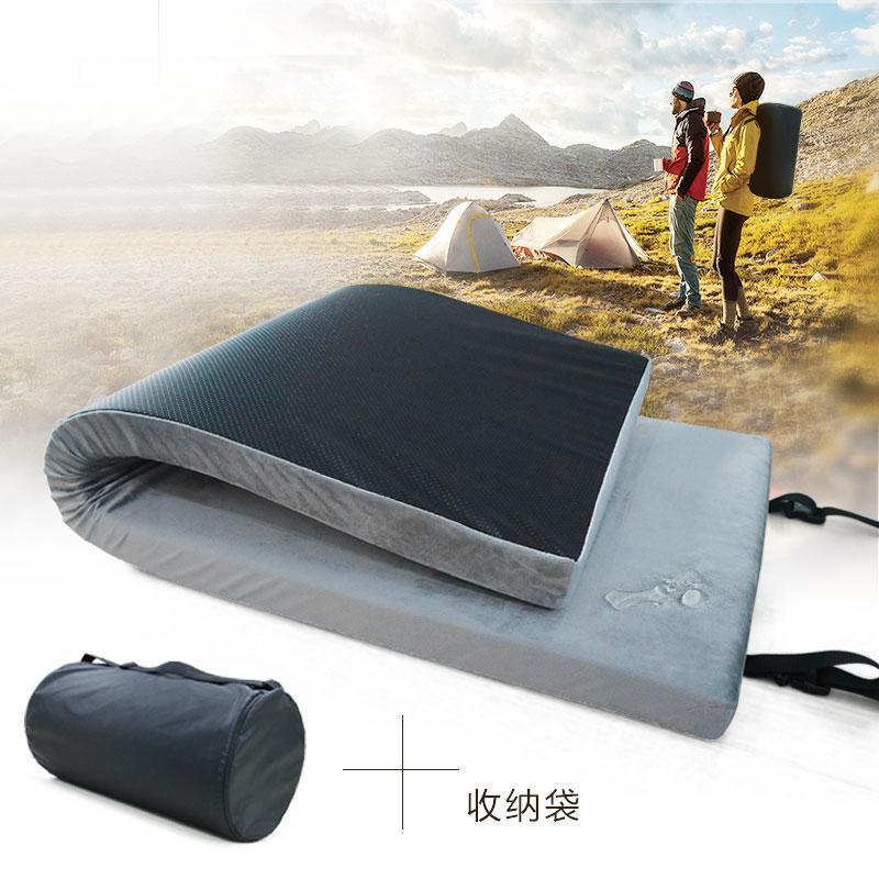 跨境便攜戶外記憶海綿床墊 戶外床墊防水 可拆洗高回彈野營墊子 1