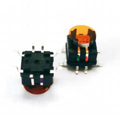 6X6mm RGB LED tact push switch