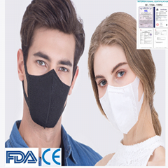 CE/FDA/FFP2认证厂家批发KN95防毒口罩防流感呼吸安全N95防冠状病毒口罩
