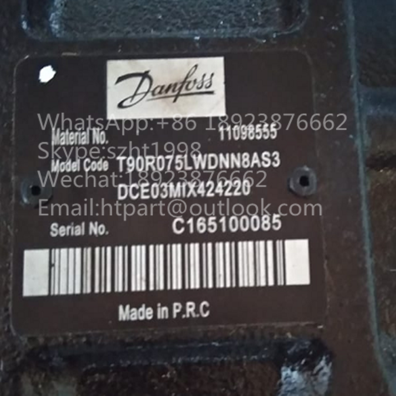 Danfoss Piston Pump T90R075LWDNN8AS3D7E03MIX424220 2