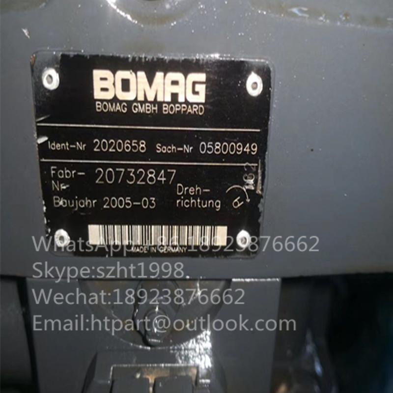 宝马格BOMRG泵 20732874 1