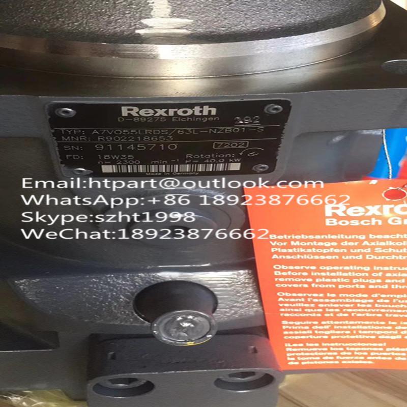 力士樂臂架泵A7VO55LRDS/63L-NZB01-S R902218653