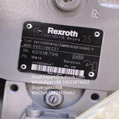 REXROTH Piston Pump A4VTG090HW100/33MRNC4C92F0000AS-Y For SANY