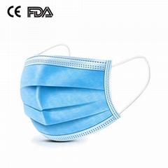 3 ply non woven medical face mask disposable