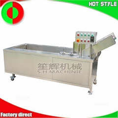 Shenghui factory vegetable and fruit bubble washing machine for sale