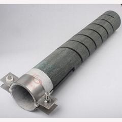 厂家直销耐高温耐腐蚀等直径U型双螺纹硅碳棒