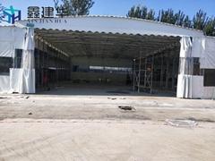 廠家定製倉庫雨棚停車棚大排檔雨蓬四角帳篷