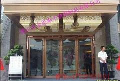 電梯鏡面玫瑰金不鏽鋼門套來圖定製