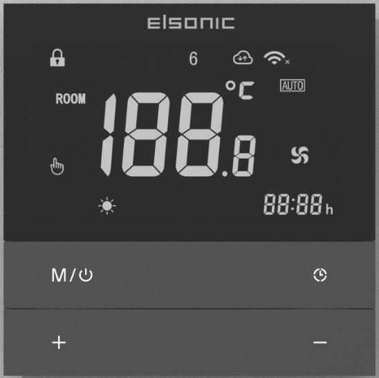 Johnson Va  e Thermostatic controller Touch screen Water Floor Heating room ther 1
