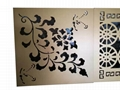 laser engraving 5.0mm Art carving Aluminum Plate for Decorative curtain wall