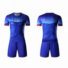 廣州洲卡學生足球服diy定製優惠促銷