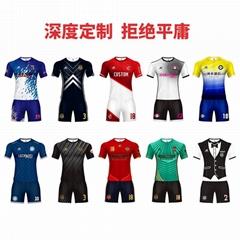 廣州洲卡品牌足球服定製優惠促銷