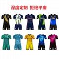 廣州洲卡足球運動服diy定製量大從優 5