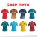 廣州洲卡足球訓練服diy定製量