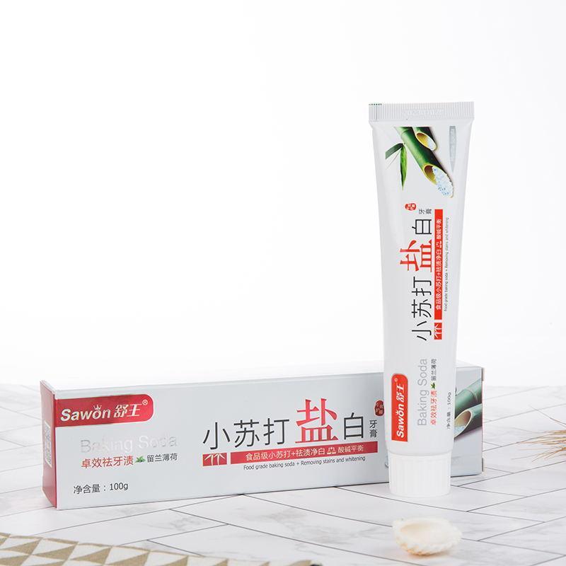 Bicarbonate of Soda Salt White Toothpaste 1