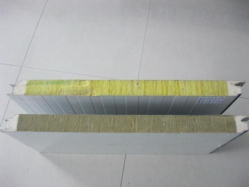 彩钢聚氨酯夹芯板岩棉夹芯板玻璃丝棉夹芯板 1