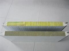 彩钢聚氨酯夹芯板岩棉夹芯板玻璃丝棉夹芯板