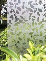 Window film for decoration PVC glass film