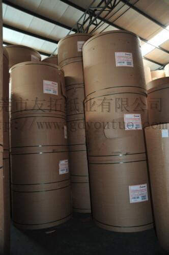 广东厂家供应条纹牛皮纸 1