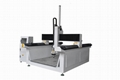 Hight Gantry Z axis Four Axis CNC machine with rotary servo