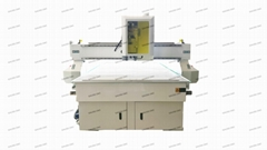 With HSD 4.5kw 6Kw air Cooling spindle 1325 Wood CNC router