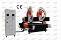 2 HSD Spindle Wood CNC Router with Yaskawa servo motor