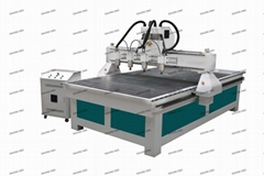 With 4 Spindle 3 Axis Wood 3D CNC Engraving Router Machine