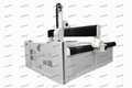 High Z Axis Servo Motor CNC Machine For EPS Mould Engraving