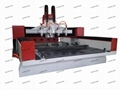 4 Head Rotary Four Axis Wood CNC Engraving Router Machine