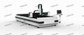 500W 1000W Fiber Laser Metal Cutting Machine