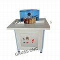 Solid wood stairs handrail sander /curved surface polishing machine Price