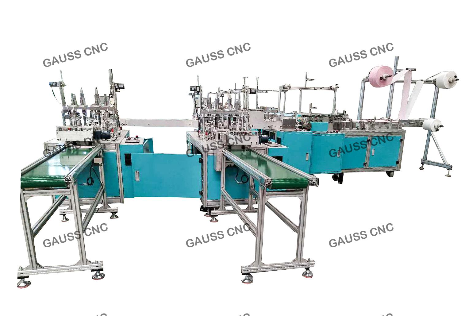 Fully Automatic Disposable Face Mask Making Machine 2
