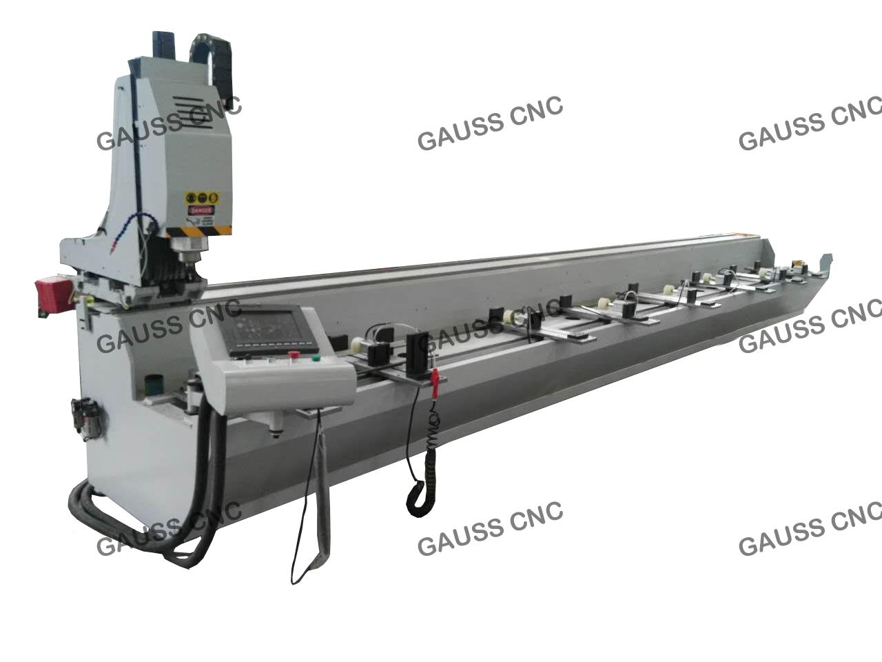 3+1Axis Profile CNC Aluminum Profile Machining Cutting Machine Center 1