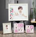 Children's crystal photo album frame albums cover